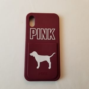 Victoria Secret Pink i-Phone X Cell Phone Case